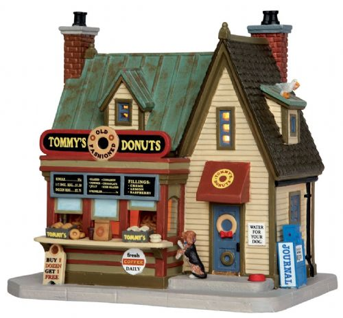 Lemax Tommy's Donuts